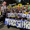 Yorkshire Anti-Fracking Rally.